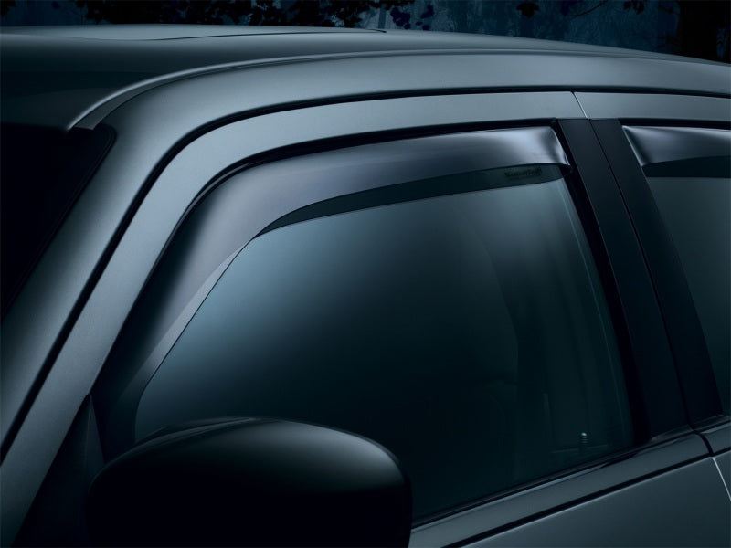 Weathertech 80723 13+ Honda Accord (Coupe Only) Front Side Window Deflectors - Dark Smoke