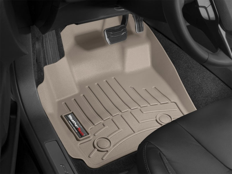 Weathertech 45148-1-2 08-11 Honda Accord Front And Rear Floorliners - Tan