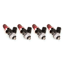 Load image into Gallery viewer, Injector Dynamics 1050.48.11.F20.4 ID1050X Injectors 11mm (Red) Adaptors S2K Lower (Set of 4)