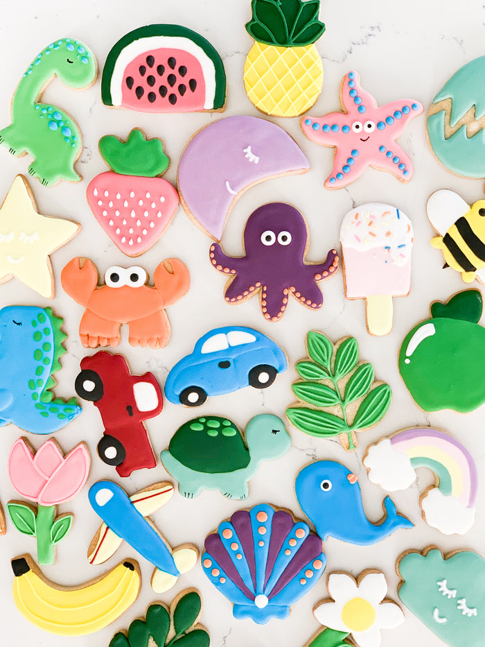 DIY Cookie Decorating Sets