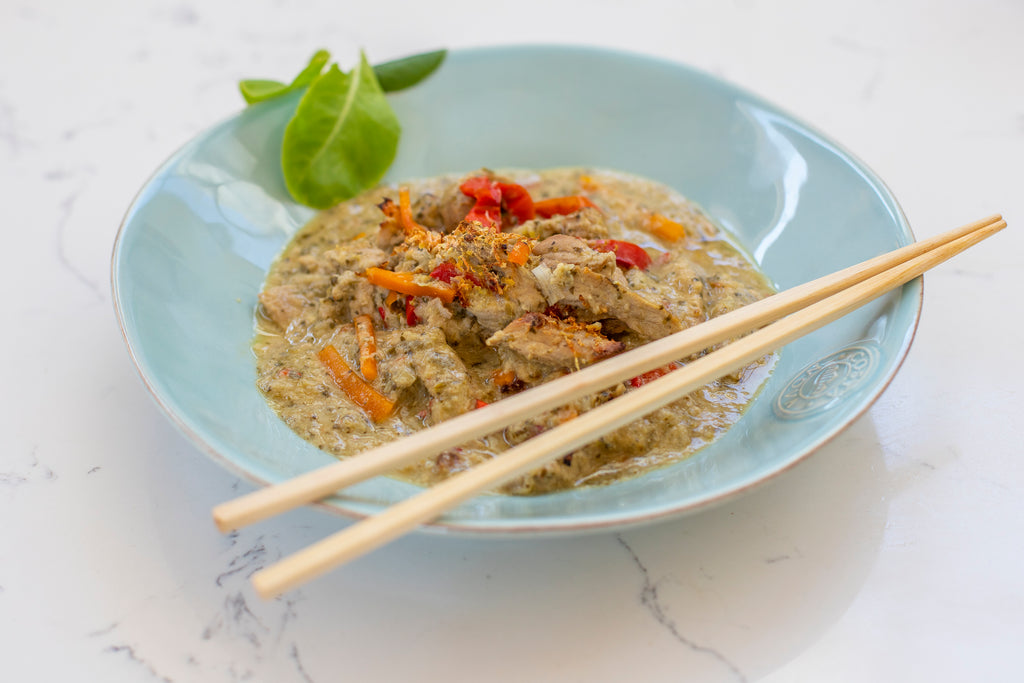 Indonesian Chicken with Lemon Grass