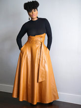 Load image into Gallery viewer, Iman High Waist Maxi Skirt