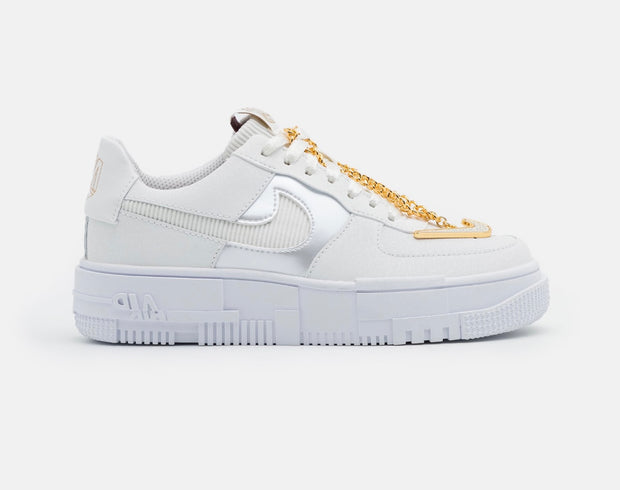 AIR FORCE 1 PIXEL SUMMIT WHITE/DARK BEETROOT