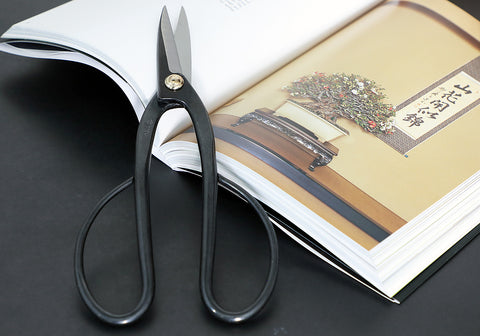ashinaga bonsai scissors long handle