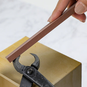 #320 Sharpening Oilstone  for Bonsai Scissors and Cutter