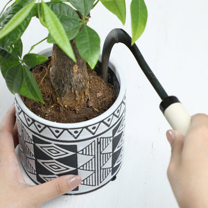 "3""(75mm) Blade, Bonsai Repotting Sickle"