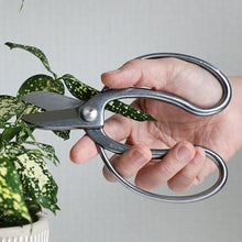 "Load image into Gallery viewer, Stainless Steel Ikebana Scissors 6.5""(165mm)"