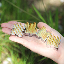 "Load image into Gallery viewer, 4PCS of 1.25""(32mm)x1.18""(30mm) Interlocking Mini Kenzan"