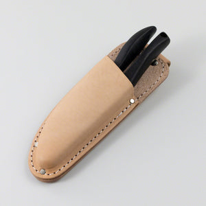 Leather Holster with Belt Loop for Pruning Shears