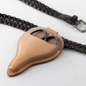 Leather Holster with Belt Loop for Garden Hand Tools