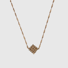 Load image into Gallery viewer, Button Necklace - Gold