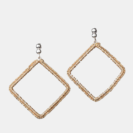 Maxi Diamond Earrings