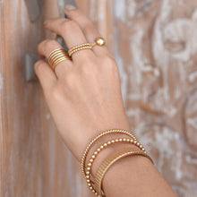Load image into Gallery viewer, Mini Bubble Bracelet - Gold