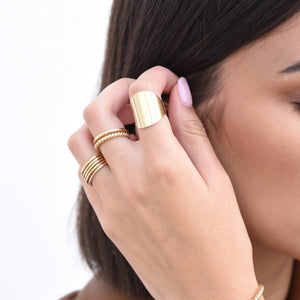 Duo Ring - Gold