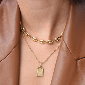 Chefchaouen Necklace - Gold