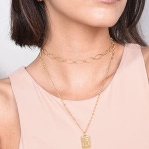 Link Necklace - Gold