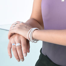 Load image into Gallery viewer, Mini Bubble Bracelet - Silver