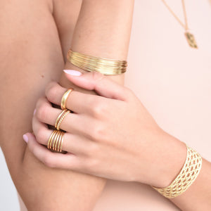 Domed Ring - Gold