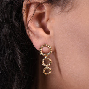 Trexa Earrings - Gold