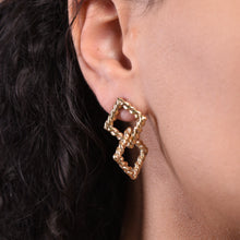 Load image into Gallery viewer, Double Earrings - Gold