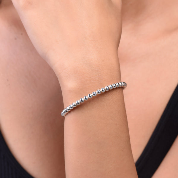 Mini Bubble Bracelet - Silver