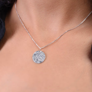 Dry Necklace - Silver