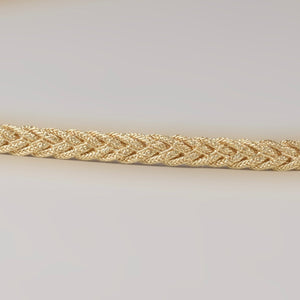 Thin Braided Belt