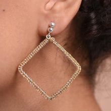 Charger l'image dans la galerie, Maxi Diamond Earrings