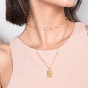 Izza Necklace II - Gold