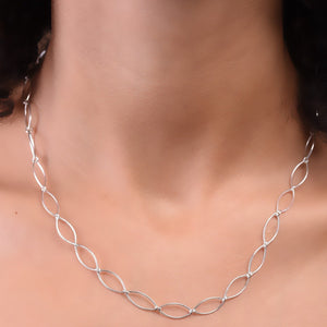 Link Necklace - Silver