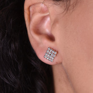 Button Studs - Silver