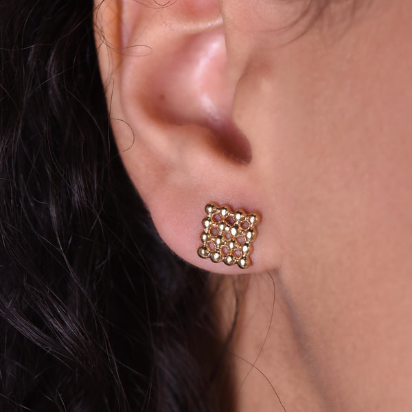 Button Studs - Gold