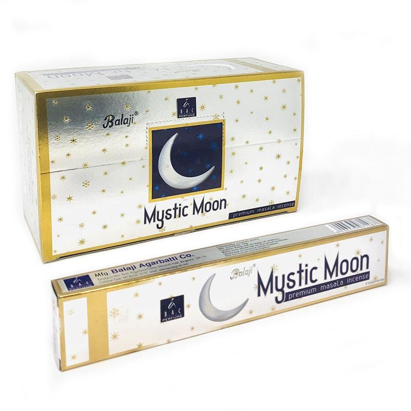 incenso indiano mystic moon aromas zen