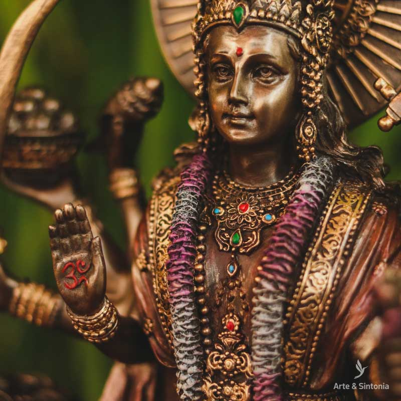 sculpture-goddess-durga-leao-resin-hindu-decor-arte-realista-escultura-veronese-design