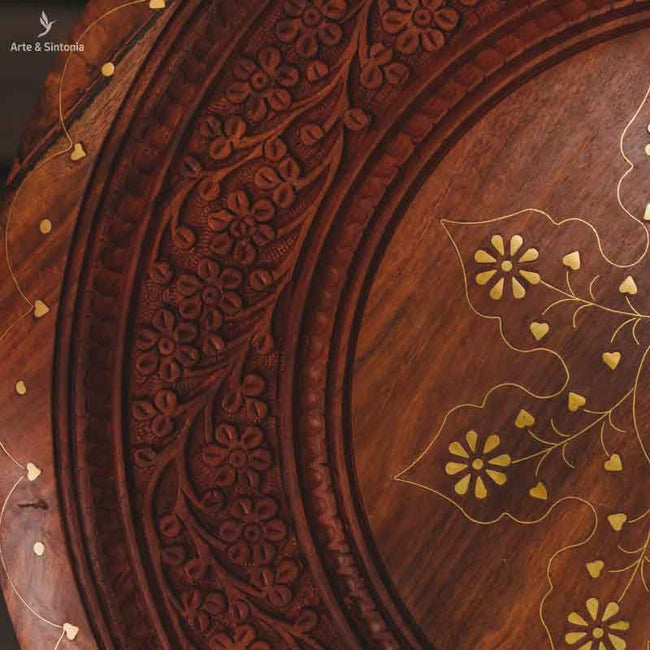 indian-hand-carved-round-table-octogonal-base-mesinha-madeira-entalhada-indiana-pintura-artistica-gold