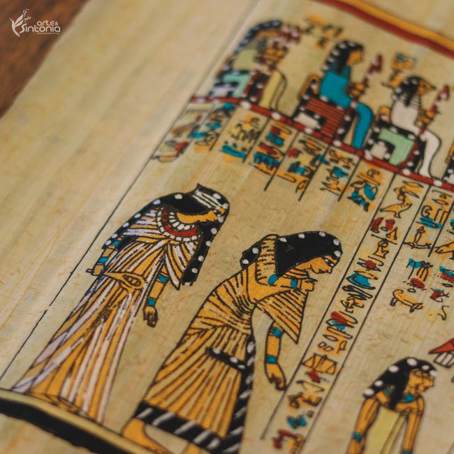 handmade-papyrus-painting-egyptian-craft-papel-papiro-autentico-arte-egipcia-decoracao-ambiente-wall-art