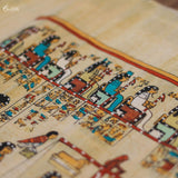 papyrus-hand-painted-anciant-egyptian-craft-papiro-colorido-autenticado-arte-egipcia-decoracao-parede-egito-wall-art