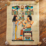 handmade-egyptian-papyrus-art-decorative-wall-hanging-papel-papiro-egipcio-decoracao-parede-autenticado