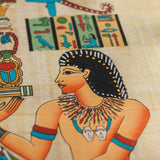 handmade-egyptian-papyrus-wall-art-hanging-papel-artesanal-papiro-egipcio-decoracao-parede-autenticado