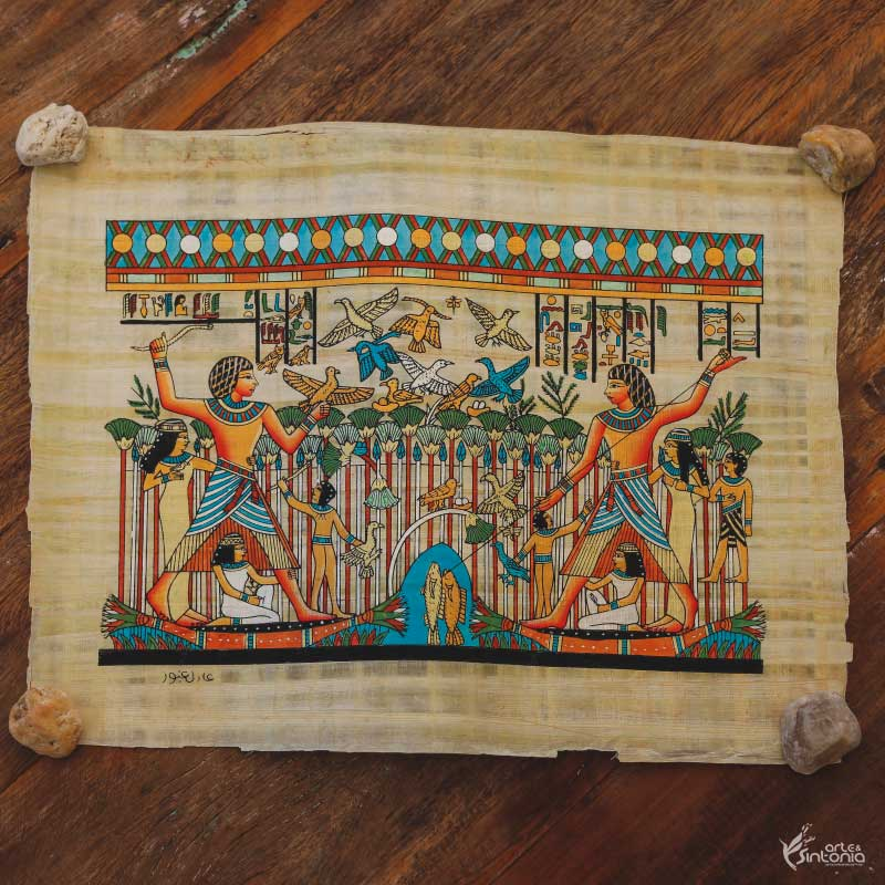 papyrus-hand-painted-egyptian-craft-papel-papiro-autentico-decoracao-interiores-egito