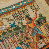 papyrus-anciant-painting-egyptian-craft-papiro-colorido-decoracao-interiores-egito-gallery-wall-art