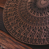 FER02 8 mandala mdf decorativa ornamentos artesanal marrom home decor decoracao artesintonia 1  5