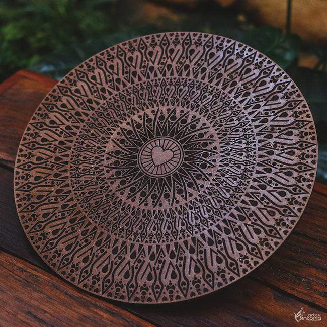 FER02 8 mandala mdf decorativa ornamentos artesanal marrom home decor decoracao artesintonia 1  6