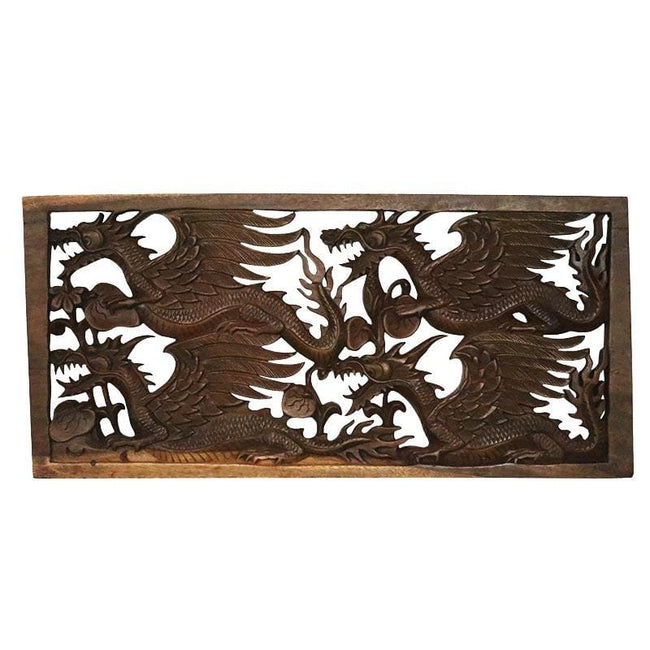 GL80 19 placa dragao madeira entalhado animais decorativos home decor arte bali indonesia artesintonia 1