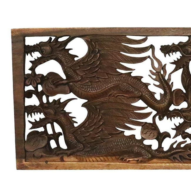 GL80 19 placa dragao madeira entalhado animais decorativos home decor arte bali indonesia artesintonia 2