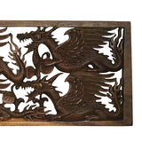GL80 19 placa dragao madeira entalhado animais decorativos home decor arte bali indonesia artesintonia 3