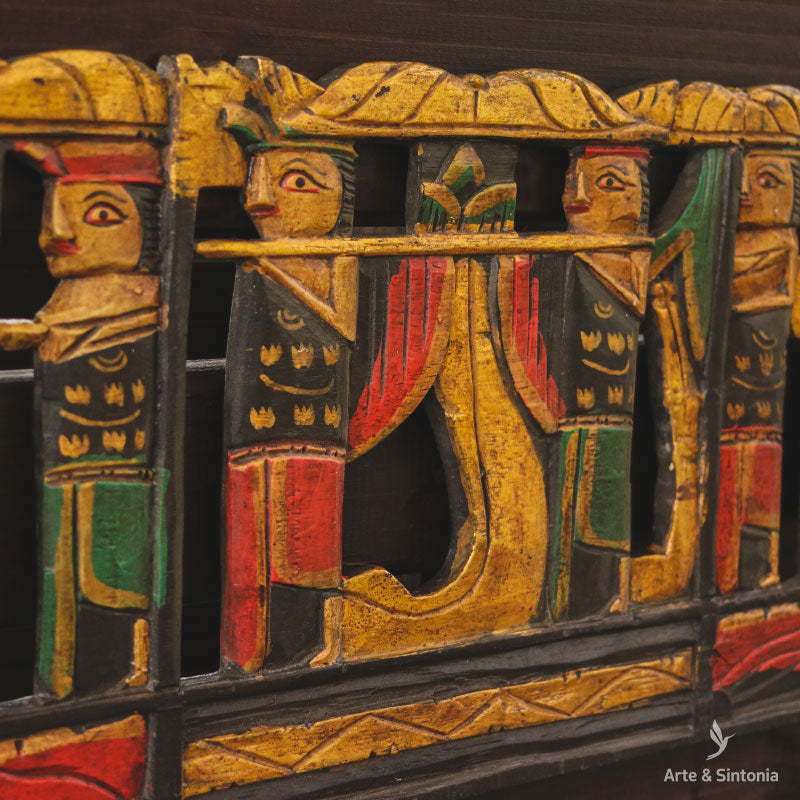 arte-bali-cerimony-panel-wooden-decorative-art-wall-decoration-handwork-decor-procession-balinese-decoracao-parede-cerimonia-indonesia-procissao-melasti
