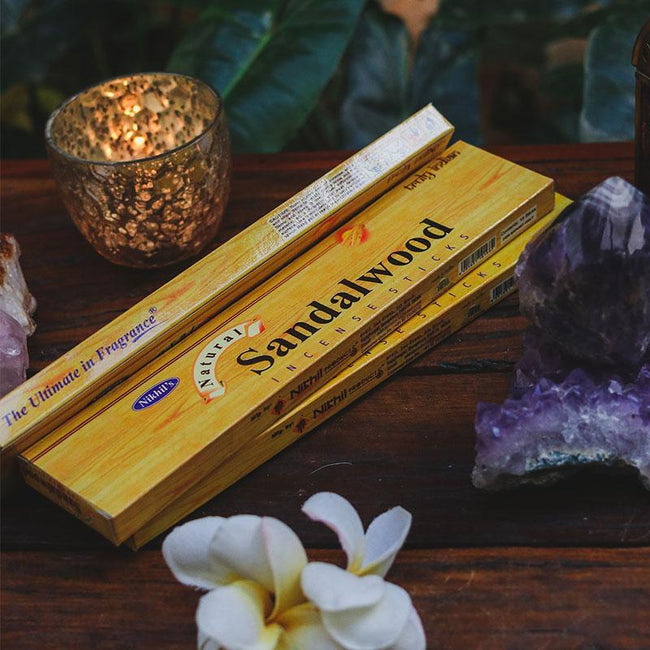 incenso incense sandalwood aromatiador indiano artesintonia 1