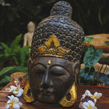 mascara mask decorativa buddha buda verde musco home decor decoracao zen artesintonia 4