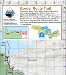Border Route Trail Map Set